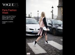 All You Need Is Style Paris Fashion Week Vogue Espagna